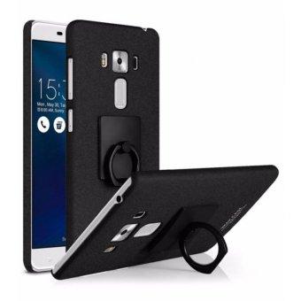 Imak Contracted iRing Hard Case for Asus Zenfone 3 Laser ZC551KL - Black
