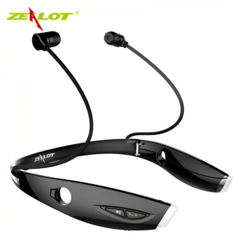 Harga Zealot H1 Sports Wireless Stereo In-Ear Bluetooth Earphone with Microphone for Phone Computer Black