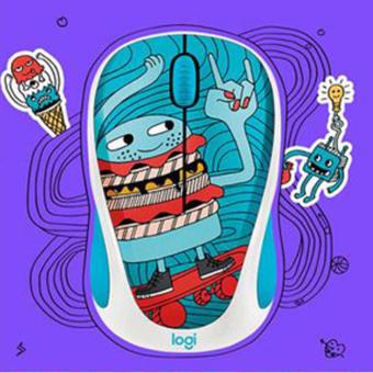 Harga Logitech M238 Doodle Collection - Skateburger