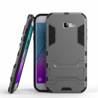 Harga Case Samsung Galaxy A5 2017 SM-A520 Transformer Robot Casing Iron Man - Grey