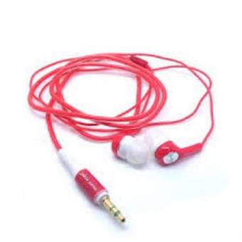 Harga Long Handsfree for Music Angel - Red