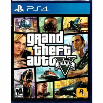 Harga Sony PS4 Games Grand Theft Auto V