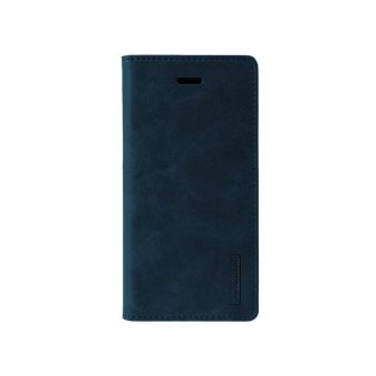 Mercury Bluemoon Flip cover Samsung Galaxy J7 Prime - Biru Dongker