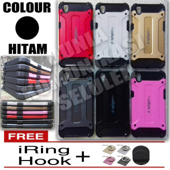 Harga Elegant Case Iron Tough Armour Oppo A37 / Neo 9 +Gratis Iring + Hook
