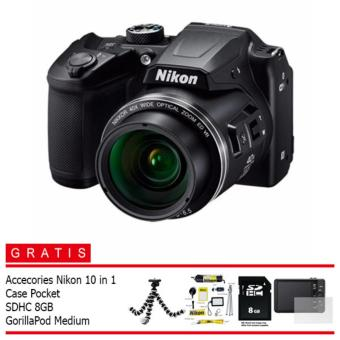 Nikon Coolpix B500 Digital Camera (Paket OKE OCE)