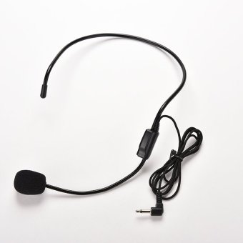 Harga Wired Headset Microphone For Voice Amplifier
