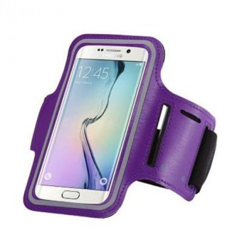 Harga Armband for Smartphone 5 inch - Purple