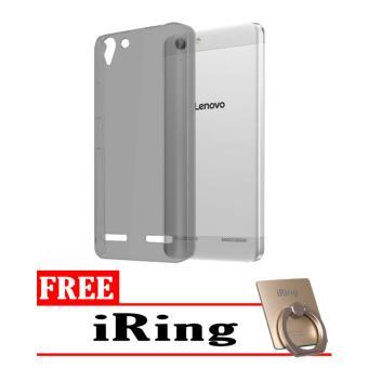 Softcase Ultrathin Lenovo K5 Plus Aircase - Hitam + Free iRing