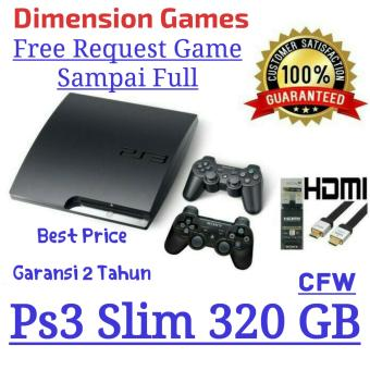 Harga SONY PLAYSTATION 3/PS3/PS 3 SLIM 320 GB CFW