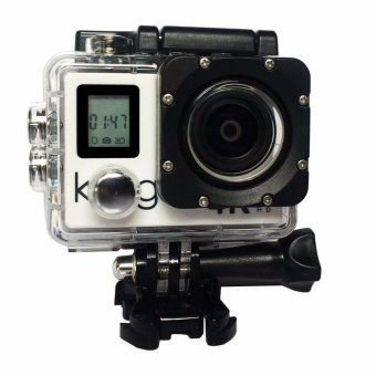 Harga Kogan Action Camera 4K NV UltraHD - 16MP - Putih - WIFI