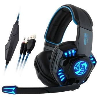 CocolMax Noswer Professional Gaming Headset LED Light Earphone Headphone with Microphone intl .