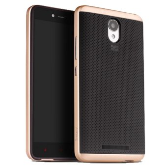 Harga Ipaky Case Xiaomi Redmi Note 2 / Redmi Note 2 Pro Neo Hybrid Series Original - Gold