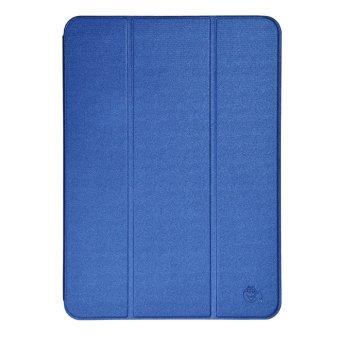 Smile Standing Cover Sarung Untuk Samsung Galaxy Tab S2 9 7 T815 Biru .