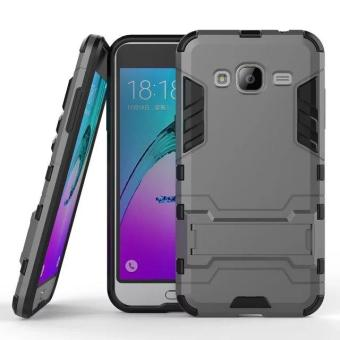 [Heavy Duty] [Shock-Absorption] [Kickstand Feature] Hybrid Dual Layer Armor Defender Full Body Protective Case Cover for Samsung Galaxy J5 J500 2015 - intl