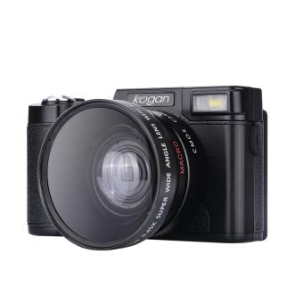 Harga Kogan 24MP kamera mirrorless FHD 1080P video 3 inci LCD wide lens