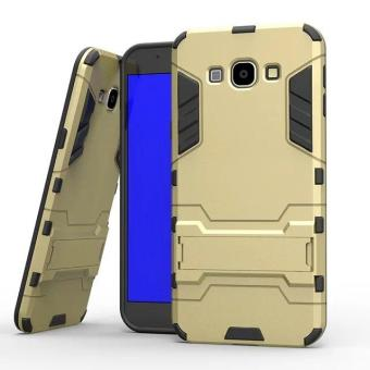 [Heavy Duty] [Shock-Absorption] [Kickstand Feature] Hybrid Dual Layer Armor Defender Full Body Protective Case Cover for Samsung Galaxy A8 (2015) - intl