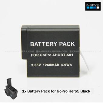 Harga BATTERY PACK FOR GOPRO HERO5 BLACK - 1PCS
