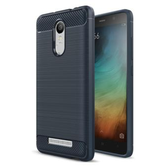 Harga iCase Carbon Shockproof Hybrid Case for Xiaomi Redmi Note 3 - Navi Blue