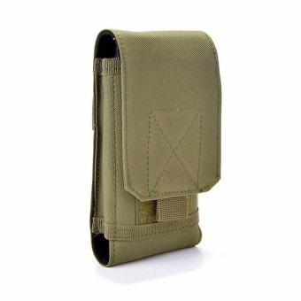 Harga Tas Fashion Ponsel Army- Pouch Bag Phone Military-Army Green
