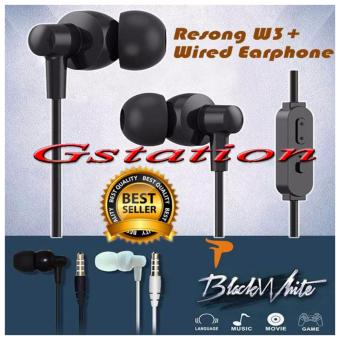 Harga Gstation W3 Headset In Ear PowerFul TruBass