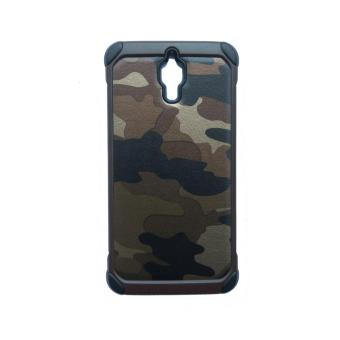 Harga Case Army Series PC+TPU for Mi 4 - Coklat Army