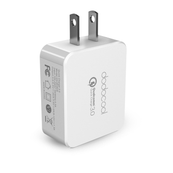 Harga [Qualcomm Quick Charge 3.0] dodocool Quick Charge 3.0 18W USB Wall Charger for LG G5 / HTC One A9 / Sony Xperia Z4 Tablet / Xiaomi Mi 5 / LeTV Le MAX Pro US Plug (Intl) - intl