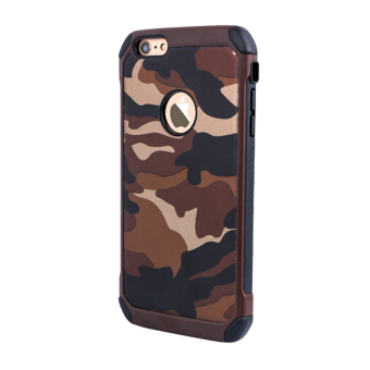 Harga Case Army Protection for Apple iPhone 6 / 6s - Coklat Army