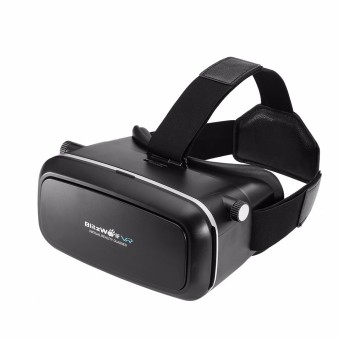 Harga BlitzWolf 3D Video Virtual Reality VR Glasses Headset+Remote For 3.5-6.0Inch Phone - Intl