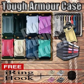 Harga Elegant Case Iron Tough Armour Oppo A39 - Merah + Gratis Iring + Hook