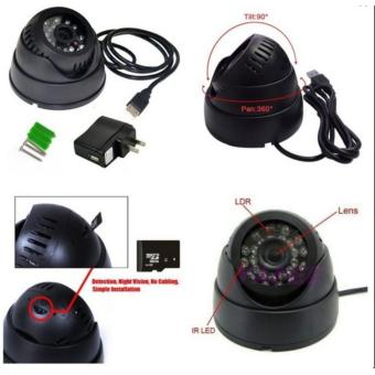 Harga CCTV Micro SD Portable Kamera Keamanan Microsd Card Memory Security Recorder Rekam tanpa DVR Night Vision Ruangan Indoor Camera Anti Maling
