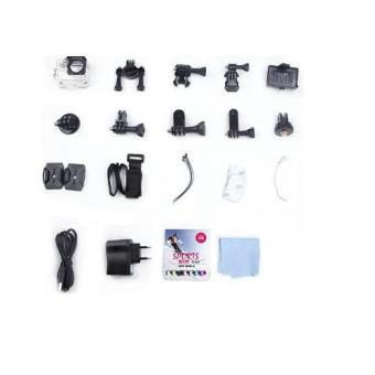 Harga Paket Aksesoris Action Camera Lengkap - Waterproof Case + Mounting For Kogan, Etc