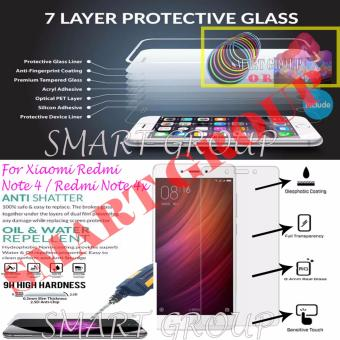 Harga Original Tempered Glass for Xiaomi Redmi Note 3 with Bundle Picks