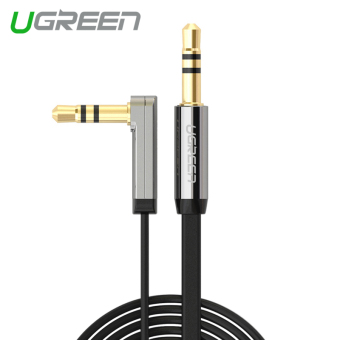 Harga UGREEN Stereo Audio Cable 90 Degree Right Angle (5m) Black - Intl