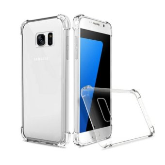 Softcase Casing for Samsung Galaxy S8 Case Anti Crack / Anti Shock [Clear]