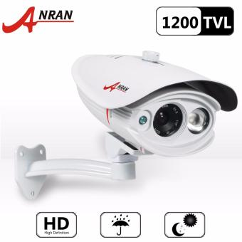 Harga ANRAN AR-C01M-N1PW 1200TVL 960H 45ft Night Vision HD Waterproof Outdoor Security Surveillance CCTV Camera