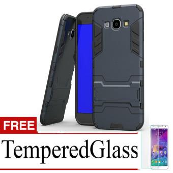 Case Samsung Galaxy Grand Prime / G530 Shield Armor Kickstand Avenger Series - Black + Free