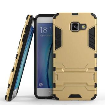 [Heavy Duty] [Shock-Absorption] [Kickstand Feature] Hybrid Dual Layer Armor Defender Full Body Protective Case Cover for Samsung Galaxy A8 (2016) - intl
