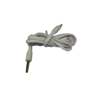 Harga Cable Audio Auxilary Jack 3.5mm Male To Male / Cable AUX Audio to Audio - Putih