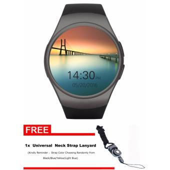 Harga KW18 Smart watch Connected WristWatch for Smartphone Support Sync Call Messager - intl