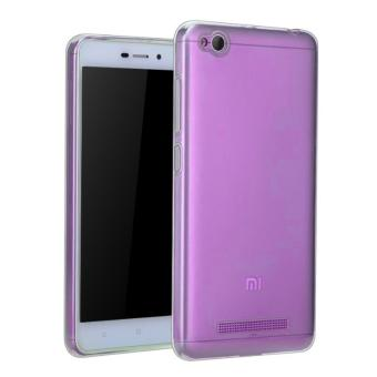 Harga Ultra Thin Softcase Xiaomi Redmi 4a - purple
