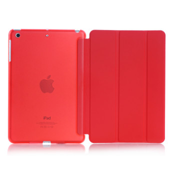 Harga Welink Ultra Slim Smart Cover PU Leather Case for Apple iPad Mini 4 (Red)