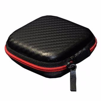 Harga Teiton Knowledge Zenith Case Bag Earphone Kulit Tempat Penyimpanan Earphones Tas Mini Aman Rapi Small Storage Holder Cases Melindungi Dari Benturan Kecil Simple Resleting Design High Quality Leather Mudah Dibawa Disimpan - Hitam