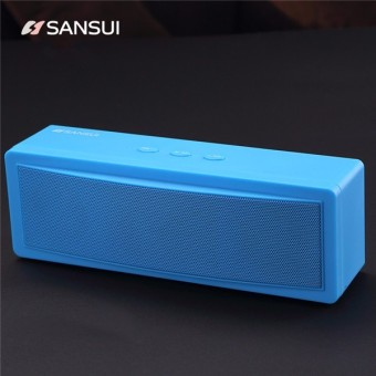 Harga Sansui T18 Wireless Bluetooth Speaker 1200mAh Subwoofer Portable Speaker Dual Unit TF Card U Disk - intl