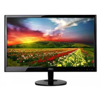 "Harga Monitor AOC LED 15,6"" E1670SW-USB Powered"