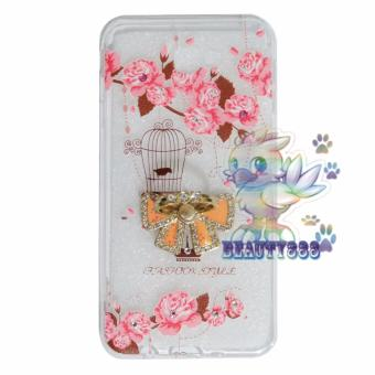 Beauty Case For Samsung Galaxy J7 Prime Softshell Animasi Vintage Bird + Holder Ring Tape Soft
