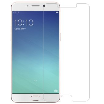 Vn Tempered Glass 9H for Oppo F1+ Plus 2D Round Curved Edge Screen Protector Film 0.33