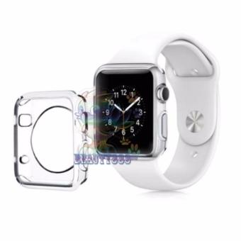 Harga Ultrathin Jelly Protection Crystal Case For Apple Watch Apple Watch 42 mm 1st Generation iWatch Soft Silicone / Pelindung Jam / Silicone Apple Watch - Bening