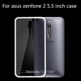 "Harga Ultra Thin for Asus Zenfone 2 5.5"" ZE551ML - Putih Transparan"