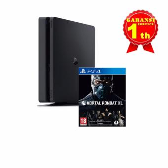 Harga Playstation 4 Slim 500GB CUH-2006A B01 - Jet Black + MORTAL KOMBAT XL - Reg 3 Asia