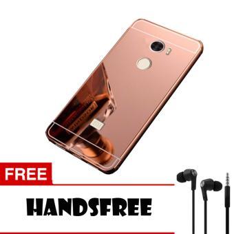 ... Mirror Backdoor Slide Gold Free Source Aluminium Bumper With Source Harga Case Alumunium Metal For Xiaomi